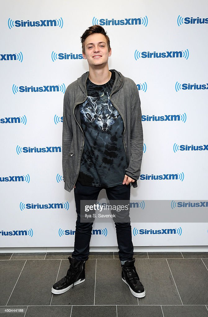 DJ Julian Jordan visits the SiriusXM Studios on June 11, 2014 in New York City.