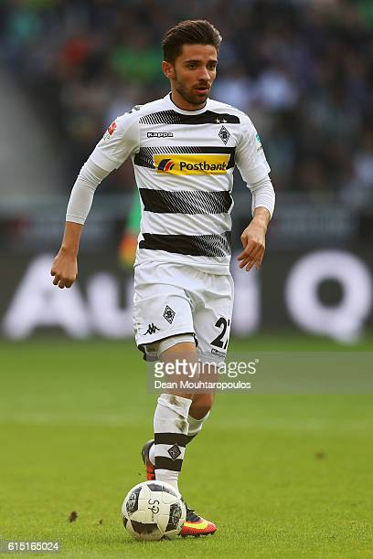 Julian Korb of Borussia Moenchengladbach in action during the Bundesliga match between Borussia Moenchengladbach and Hamburger SV at BorussiaPark on...