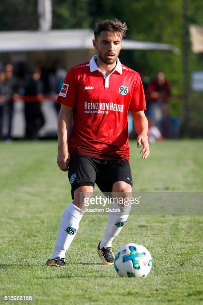 Julian Korb of Hannover 96 during the preseason friendly match between HSC Hannover and Hannover 96 at HSCStadion on July 2 2017 in Hanover Germany