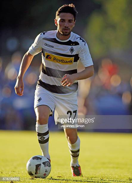 Julian Korb of Moenchengladbach in action during the friendly match between Borussia Moenchengladbach and TSV 1860 Muenchen on July 20 2016 in...