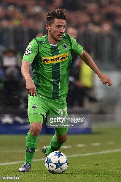 Julian Korb of VfL Borussia Moenchengladbach in action during the UEFA Champions League group stage match between Juventus and VfL Borussia...