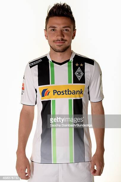 Julian Korb poses during the Media Day of Borussia Moenchengladbach at BorussiaPark on July 10 2014 in Moenchengladbach Germany