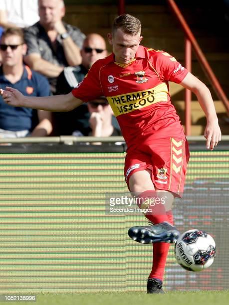 Julian Lelieveld of Go Ahead Eagles during the Dutch Keuken Kampioen Divisie match between Go Ahead Eagles v Roda JC at the De Adelaarshorst on...
