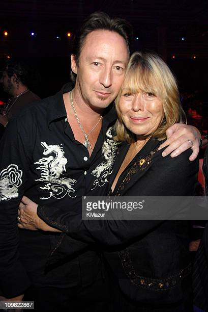Julian Lennon and mother Cynthia Lennon *EXCLUSIVE*