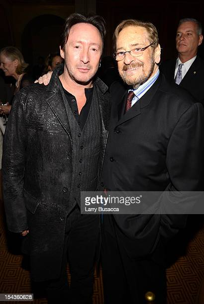 Julian Lennon and Producer Phil Ramone attend Lupus Foundation of America Butterfly Gala 2012 at Gotham Hall on October 18 2012 in New York City