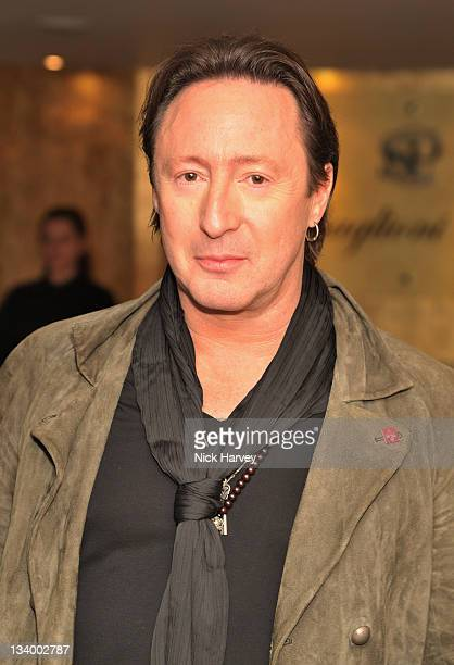 Julian Lennon arrives at The Prince's Trust Rock Gala 2011 After Party at Baglioni Hotel on November 23 2011 in London England