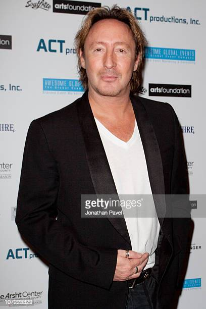 Julian Lennon arrives during his Timeless collection during Art Basel Miami Beach at Adrienne Arsht Center on November 30 2010 in Miami Florida
