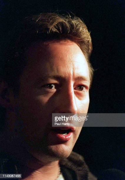 Julian Lennon at an opening of an Eco shop in the beach community October 26 1995 Malibu California