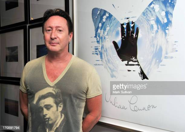 Julian Lennon attends his Everything Changes CD release event at Morrison Hotel Gallery on June 14 2013 in West Hollywood California