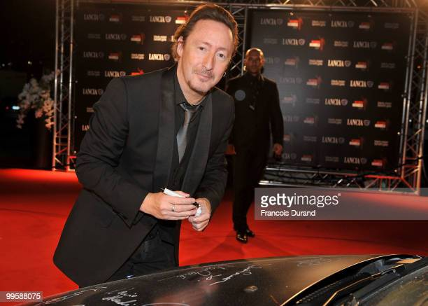 Julian Lennon attends the �Black Moon Benefit Gala� for the Mandela Foundation hosted by Lancia on board of the �Signora del Vento� on May 15 2010 in...