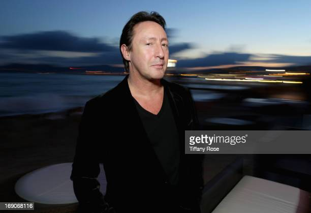 Julian Lennon attends The Creative Coalition Dinner celebrating the Art of Julian Lennon during the 66th Annual Cannes Film Festival at Torch at...