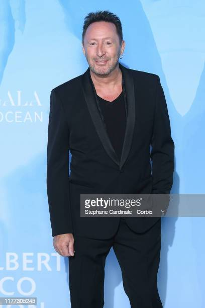 Julian Lennon attends the Gala for the Global Ocean hosted by HSH Prince Albert II of Monaco at Opera of MonteCarlo on September 26 2019 in...
