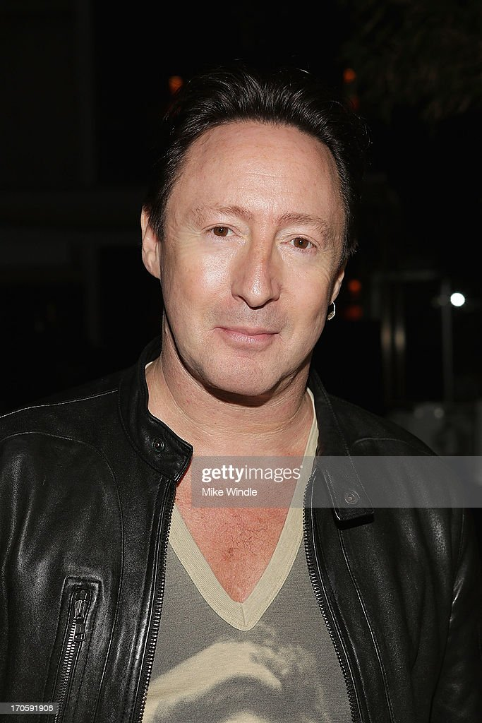 Julian Lennon attends the Julian Lennon 'Everything Changes' CD release party at Sunset Marquis Morrison Hotel Gallery on June 14, 2013 in West Hollywood, California.