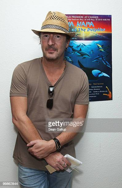 Julian Lennon attends the Na Nai'a Legend of the Dolphins Photocall at Palais des Festivals during the 63rd Annual Cannes Film Festival on May 18...