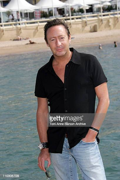 Julian Lennon during 2007 Cannes Film Festival Whale Dreamers Photocall at Majestic Pier in Cannes France
