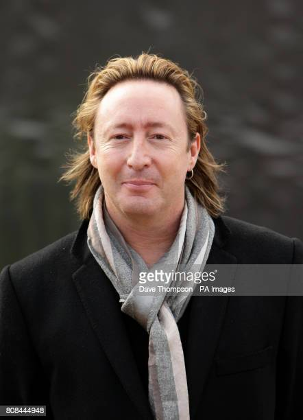 Julian Lennon During The Unveiling Of European Peace Monument Dedicated To Memory John