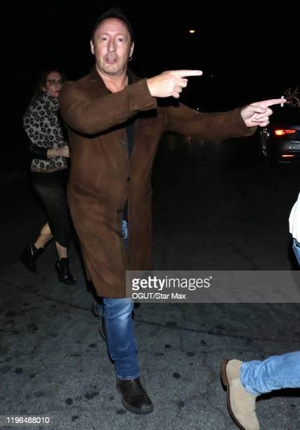 Julian Lennon is seen on January 26 2020 in Los Angeles California