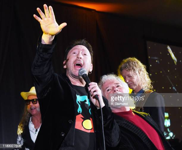 Julian Lennon joined by Ed Roland of Collective Soul Chuck Leavell and Peter Stroud during the 2019 Captain Planet Foundation Gala at Flourish...