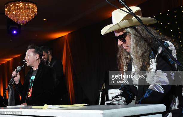 Julian Lennon joined by Ed Roland of Collective Soul performs during the 2019 Captain Planet Foundation Gala at Flourish Atlanta on November 16 2019...