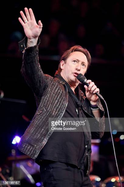 Julian Lennon performs on stage at the Royal Albert Hall as part of the Prince's Trust Gala on November 23 2011 in London UK
