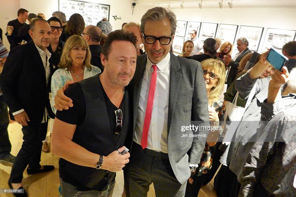 Julian Lennon Photography Exhibit : News Photo