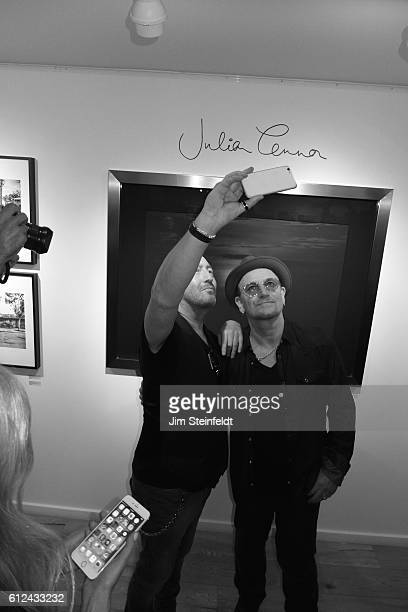 Julian Lennon photography exhibit at the Leica Gallery in Los Angeles California on Septmeber 8 2016