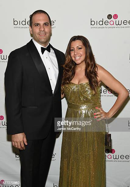 Julian Leone and Andrea Leone attend the 2015 Bideawee Ball with Former Bachelor Star Prince Lorenzo Borghese on June 15, 2015 in New York City.