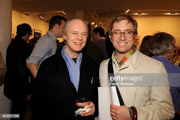 Julian Lethbridge and Andy Young attend Photographic Works to Benefit the Foundation for Contemporary Arts at Cohan Leslie on December 11 2008 in New...