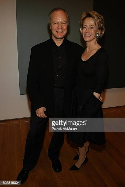 Julian Lethbridge and Anne Bass attend MoMA Opening Celebrating Brice Marden A Retrospective of Paintings and Drawings at MoMA on October 24 2006