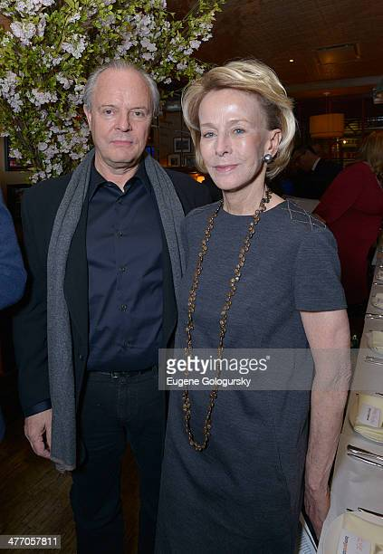 Julian Lethbridge and Anne Bass attend the Tom Gold Dance Gala 2014 on March 6 2014 in New York City