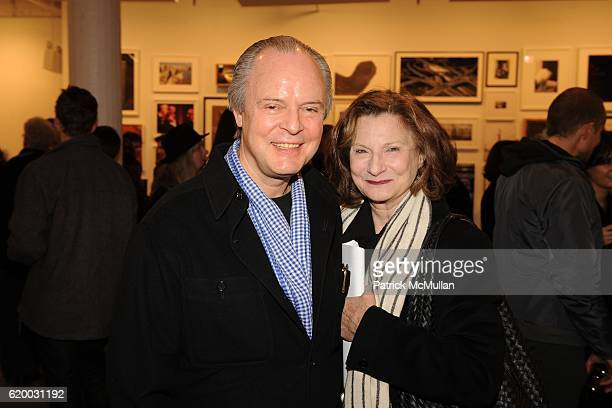 Julian Lethbridge and Etheleen Staley attend Photographic Works to Benefit the Foundation for Contemporary Arts at Cohan Leslie on December 11 2008...