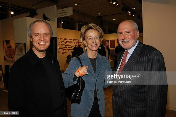 Julian Lethbridge Anne Bass and Michael Lynne attend THE ARMORY SHOW 2006 Opening Night Preview Party To Benefit The Exhibition Fund of The Museum of...