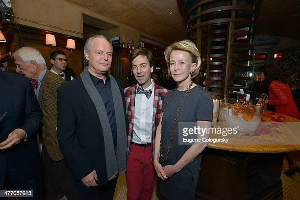 Julian Lethbridge Tom Gold and Anne Bass attend the Tom Gold Dance Gala 2014 on March 6 2014 in New York City