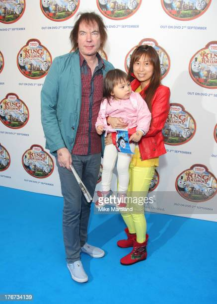 Julian Lloyd Webber and Jiaxin Cheng attend VIP Screening of Thomas & Friends: King Of The Railway at Vue Leicester Square on August 18, 2013 in...