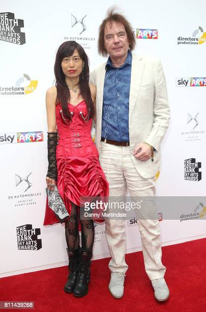 Julian Lloyd Webber and Jiaxin Cheng attending The Southbank Sky Arts Awards 2017 at The Savoy Hotel on July 9 2017 in London England