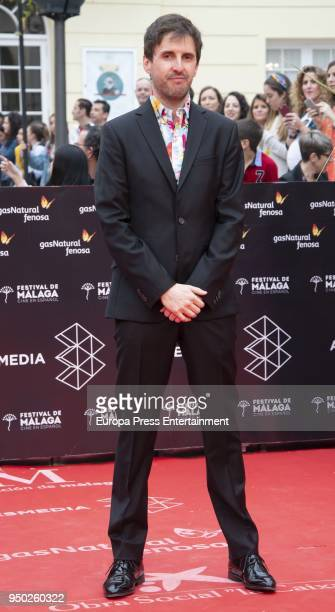 Julian Lopez during the 21th Malaga Film Festival closing ceremony at the Cervantes Teather on April 21 2018 in Malaga Spain