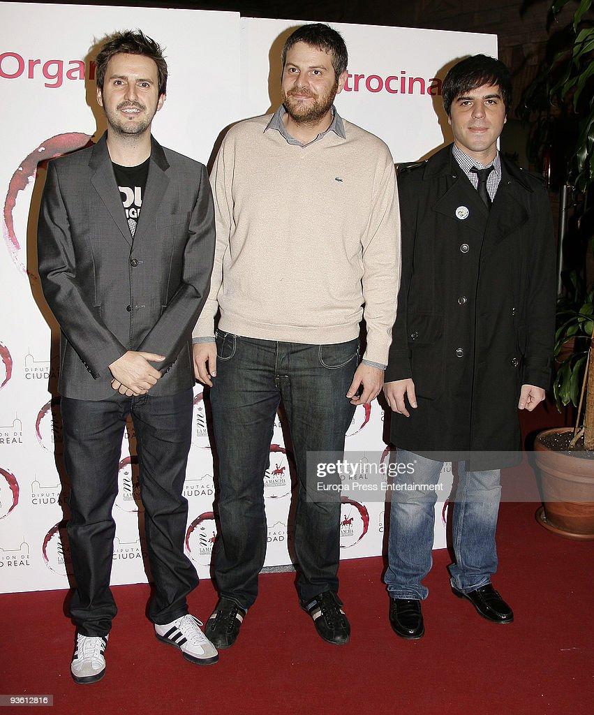 ¿Cuánto mide Raúl Cimas? - Altura Julian-lopez-raul-cimas-ernesto-sevilla-attend-jovenes-de-la-mancha-picture-id93612816