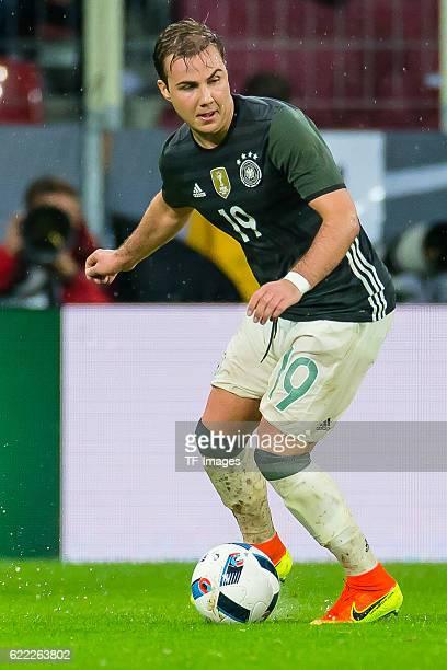 Sonntag Laenderspiel in Augsburg Deutschland Slowakei 13 Julian Mario Goetze
