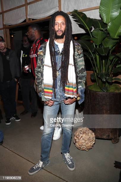 Julian Marley attends Primary Wave x Island Records Presented By Mastercard at 1 Hotel West Hollywood on January 23, 2020 in West Hollywood,...