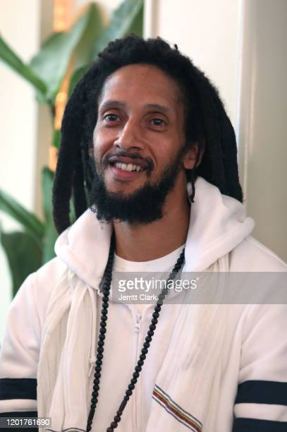 Julian Marley attends the Primary Wave x Island Records Presented By Mastercard: One Love Hotel - Marley Brunch at 1 Hotel West Hollywood on January...