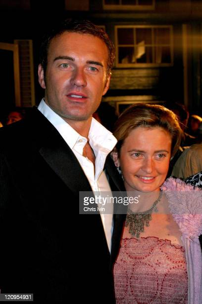 Julian McMahon and Melinda McMahon during Fantastic Four Sydney Premiere at W Hotel in Sydney NSW Australia