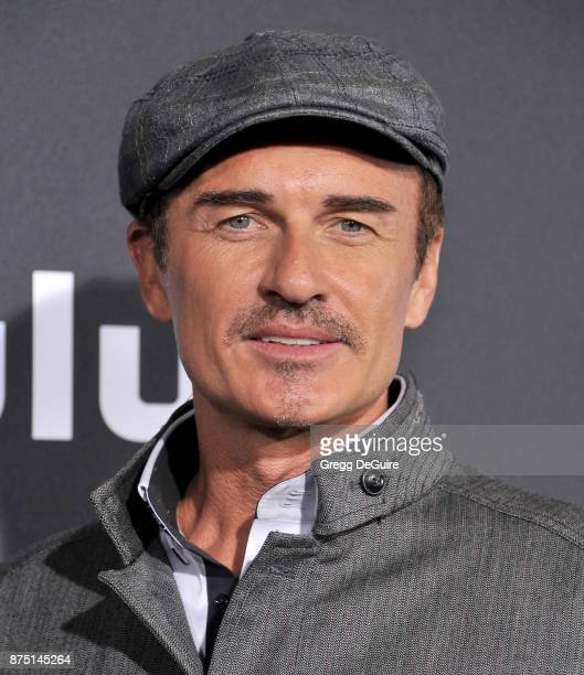 Julian McMahon arrives at the premiere of Hulu's Marvel's Runaways at Regency Bruin Theatre on November 16 2017 in Los Angeles California
