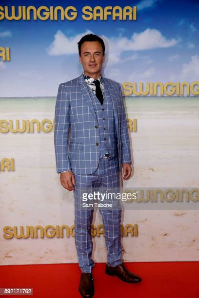 Julian McMahon attends the Melbourne premiere of Swinging Safari on December 14 2017 in Melbourne Australia