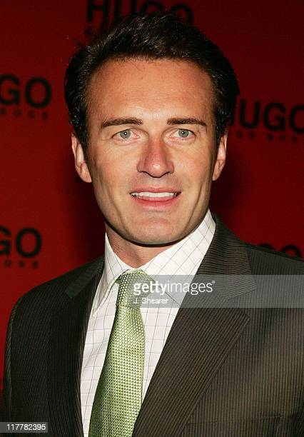 Julian McMahon during Hugo Boss Fall Winter 2005 Men's and Women's Collections Party and Fashion Show Arrivals at The Beverly Hills Hotel in Beverly...