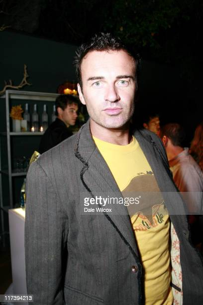 Julian McMahon during Maria Menounos Birthday Party Hosted by Belvedere Vodka at Private Home in Los Angeles CA United States