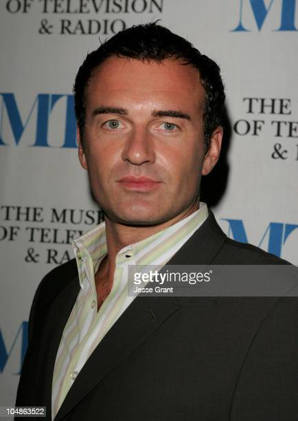 Julian McMahon during Miami Black and Blue A Look at Nip/Tuck at The Museum of Television and Radio in Beverly Hills California United States
