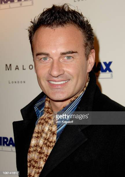 Julian McMahon during Miramax Films 2007 PreOscar Party at Sunset Tower Hotel in West Hollywood CA United States