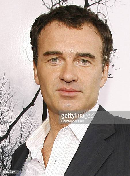 Julian McMahon during Premonition Los Angeles Premiere Red Carpet at Cinerama Dome in Hollywood California United States