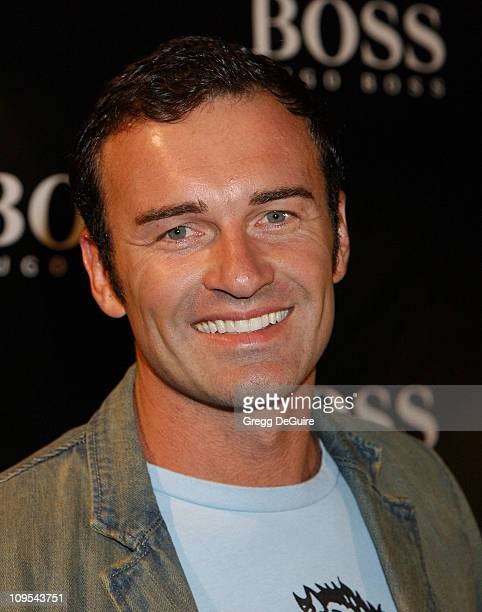 Julian McMahon of Nip/Tuck during Hugo Boss Celebrates The ReOpening Of Their Rodeo Drive Store at Hugo Boss Store in Beverly Hills California United...