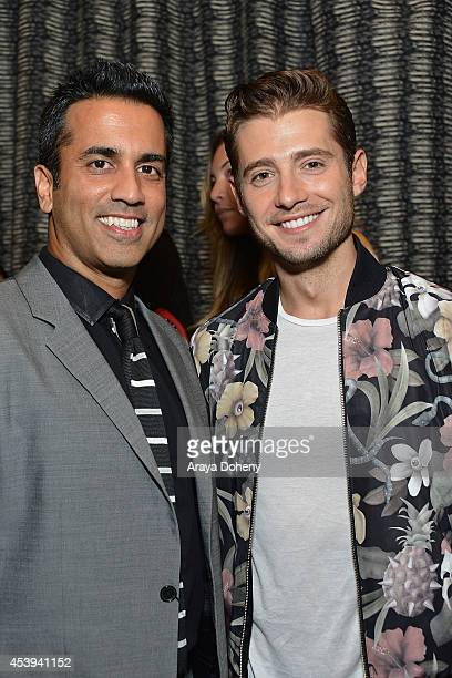 Julian Morris attends a PreEmmy dinner to benefit Two Feet Project at RivaBella on August 21 2014 in West Hollywood California